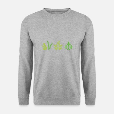 Plant Grounds plants - Men's Sweatshirt