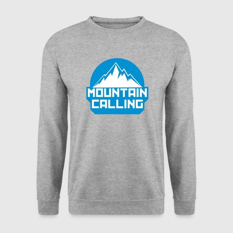 MOUNTAIN CALLING - Sweat-shirt Homme