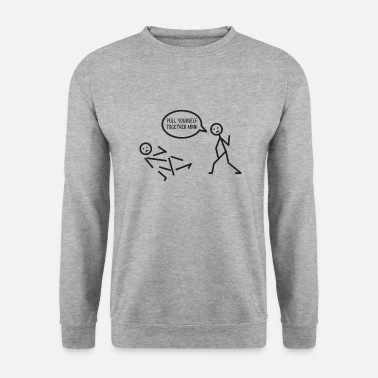 Stick stick figure - Men's Sweatshirt