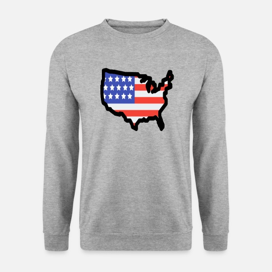 Stadium Hoodies & Sweatshirts - United States - Men's Sweatshirt salt & pepper