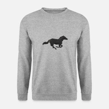 Galop Cheval galop - Sweat-shirt Homme