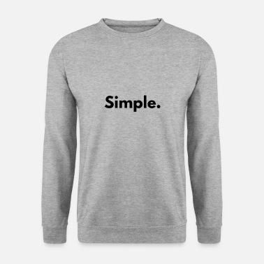Simple simple - Sweat-shirt Homme