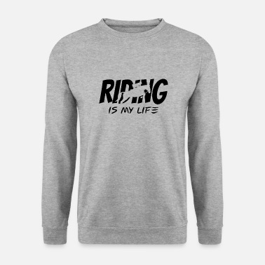 Equitation Riding horses equitation - Men's Sweatshirt