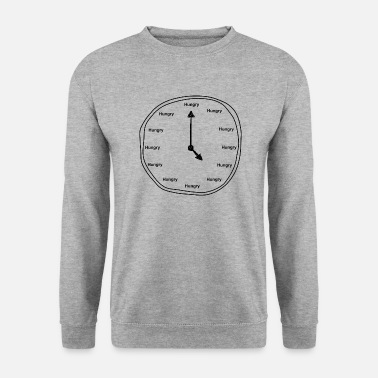 Clock Hungry Clock - Männer Pullover