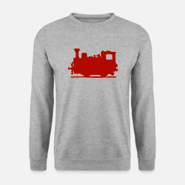 Train Train à vapeur Vintage - Sweat-shirt Homme