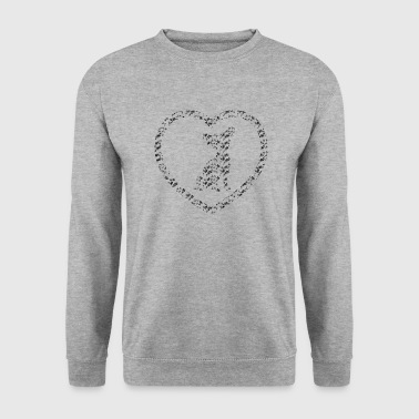 Chihuahua heart - Men's Sweatshirt