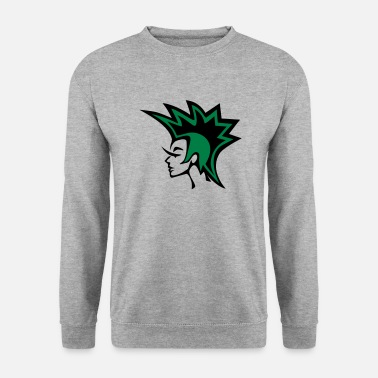 Craft Punk icon Green - Men's Sweatshirt
