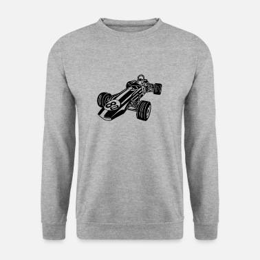 Racing Car Race Car / Race Car 02_black - Men's Sweatshirt