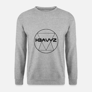 Gris H3AVYZ- Pull gris chiné - Sweat-shirt Homme