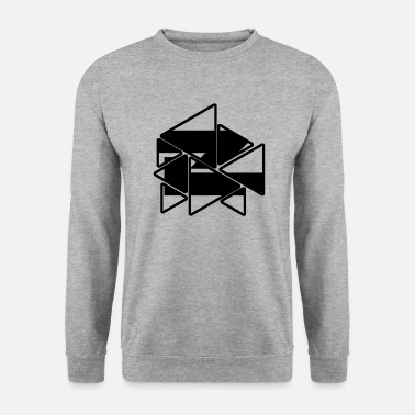 Triangles - Men's Sweatshirt