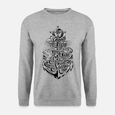 Hipster Anchor - Sweat-shirt Homme