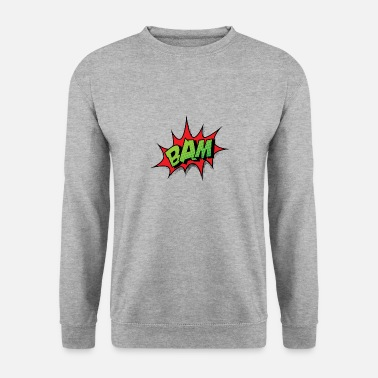 Comic Comic Comic Comic Strip BAM - Sweat-shirt Homme