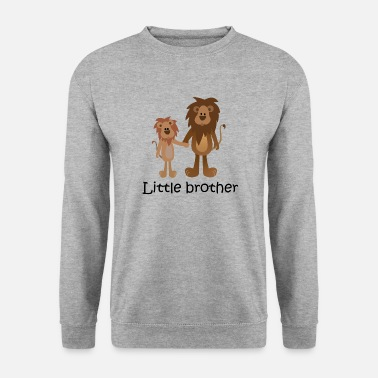 lion little brother - Männer Pullover