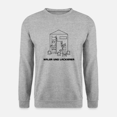 Painters and painters - painting the facade - Men's Sweatshirt