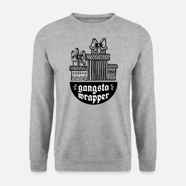 Gangsta Wrapper - pakningspapiremballage - Herre sweater