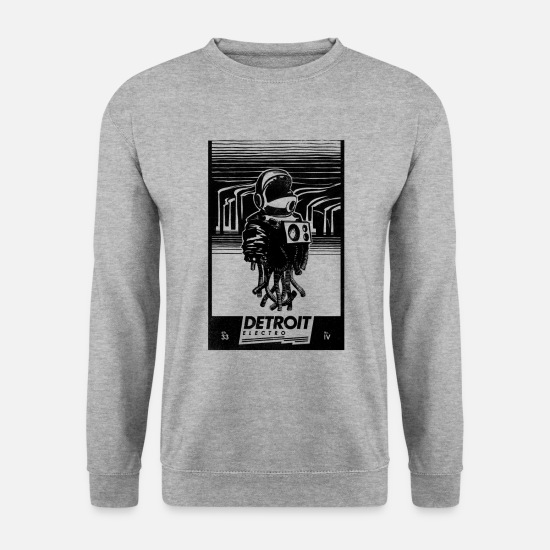 Technologie Sweat-shirts - Detroit Electro - Sweat-shirt Homme gris chiné