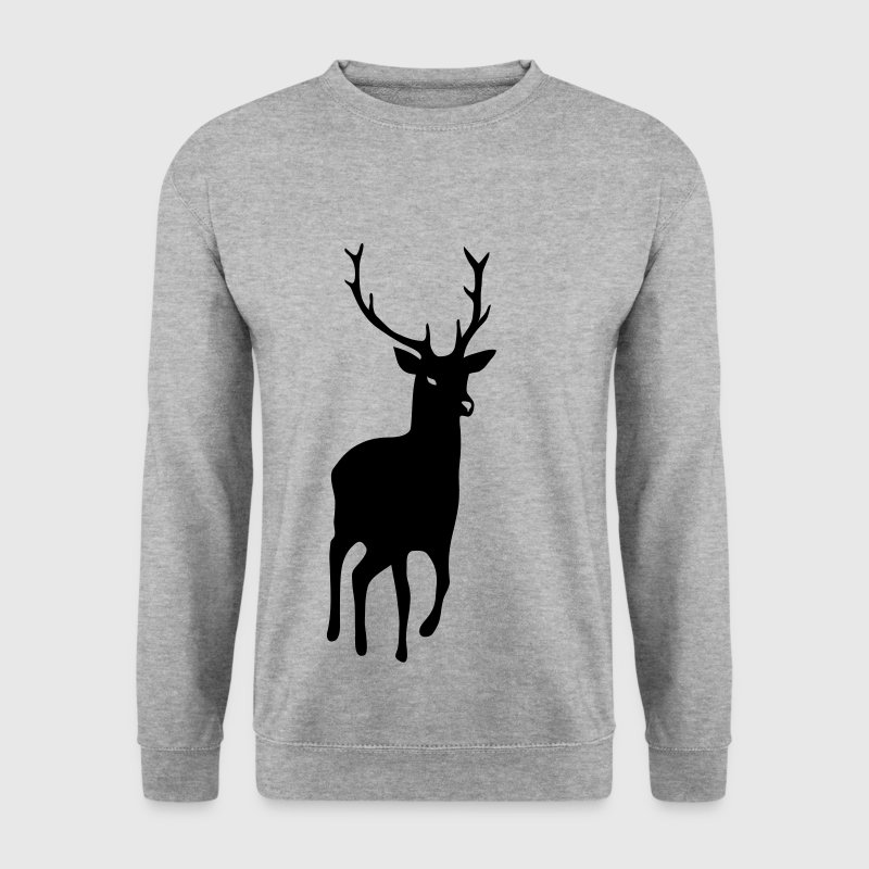 stag deer moose elk antler antlers horn horns cervine bachelor party night hunter hunting - Herre sweater