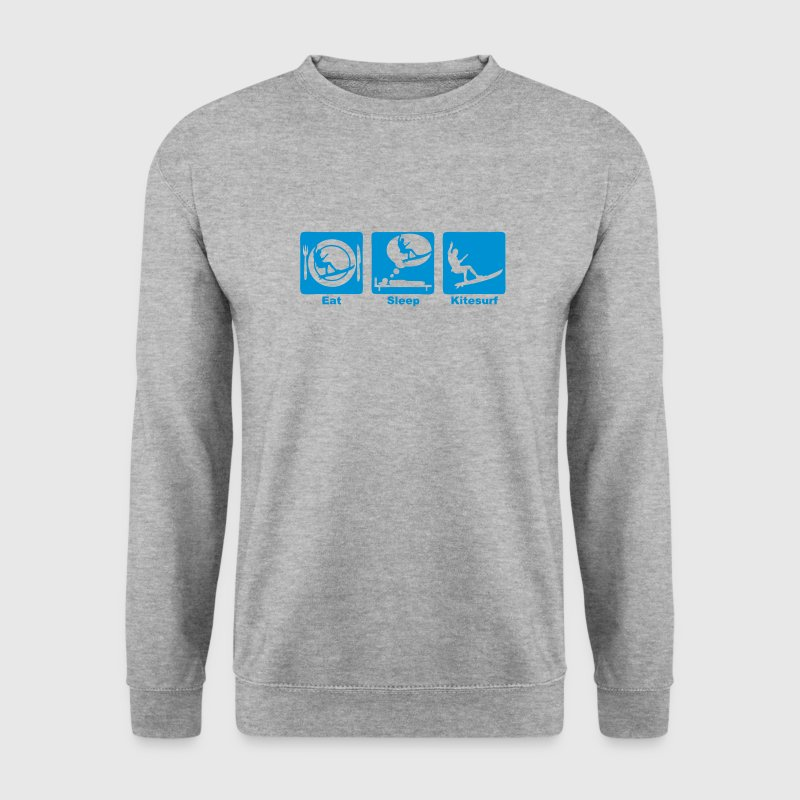 kitesurf eat sleep play  - Sweat-shirt Homme