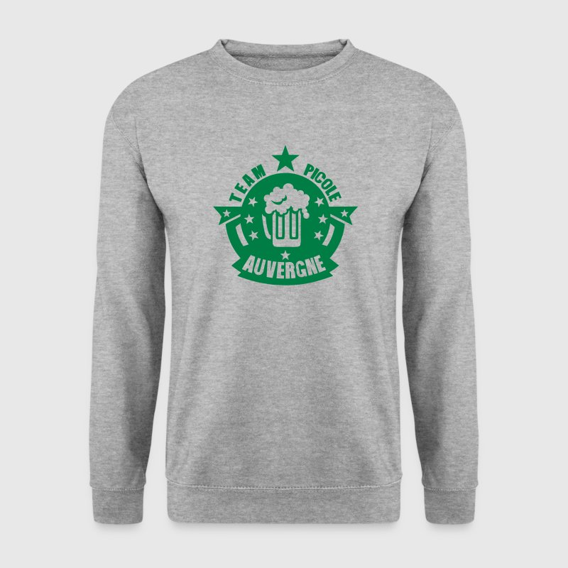 auvergne team picole biere logo - Sweat-shirt Homme
