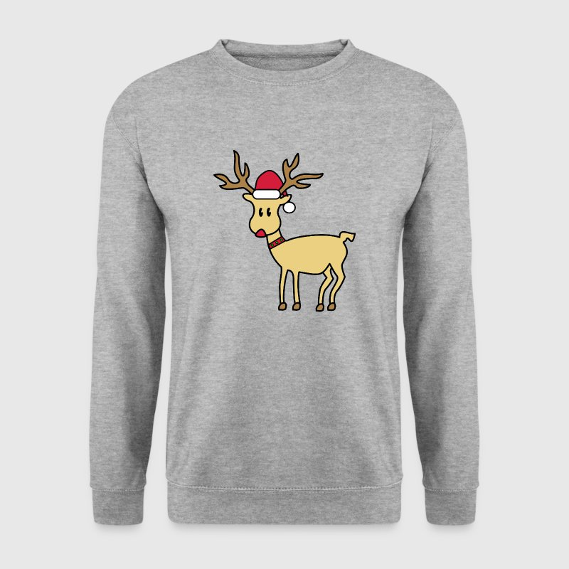 rudolph the red nosed reindeer - Männer Pullover