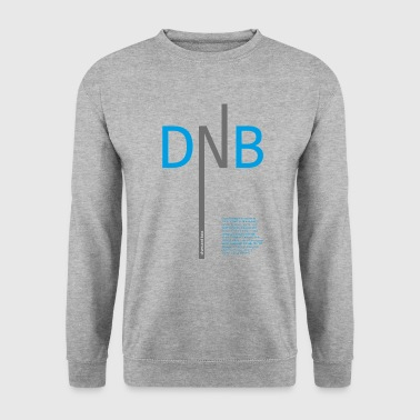 Drum en bas DNB - Mannen sweater