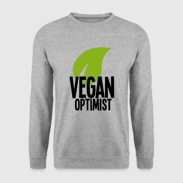 Optimist Vegan optimist - Mannen sweater