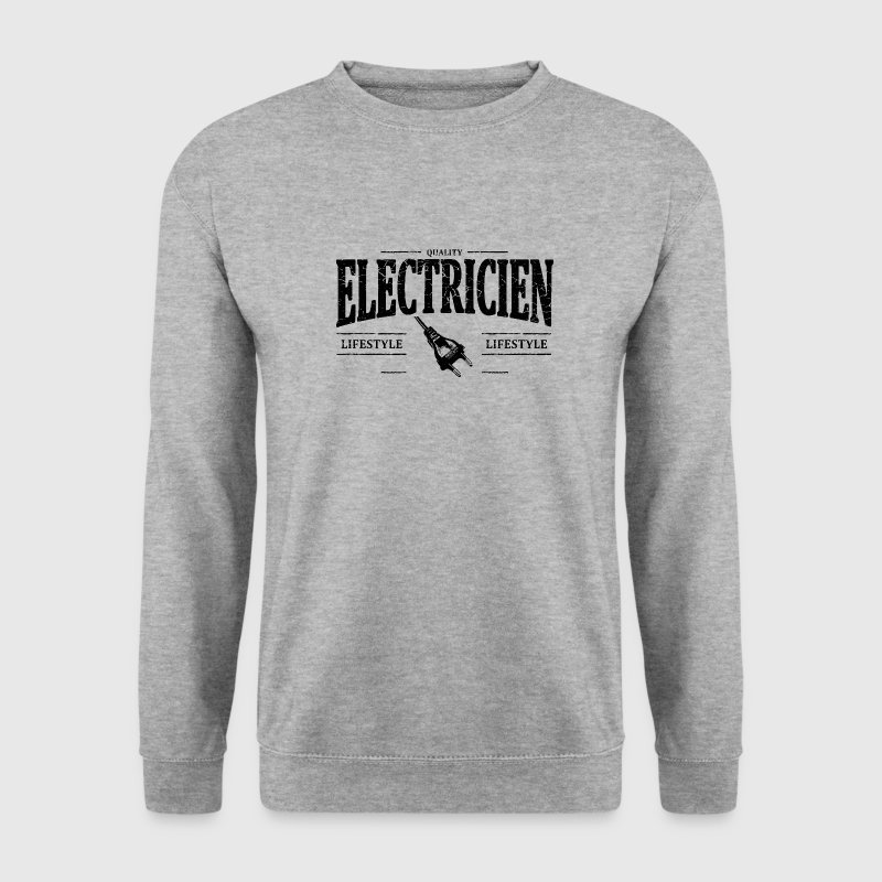 Electricien - Sweat-shirt Homme