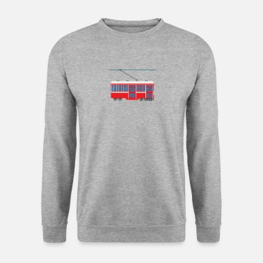 Train Tram Tram Train Train Train Locomotive Train Bus - Sweat-shirt Homme