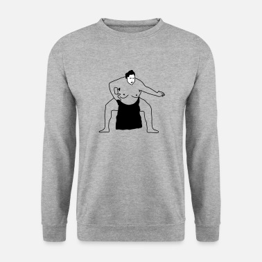 Sumu Lee sumo | Sumoringer | anneaux | Ringer | art martial - Sweat-shirt Homme