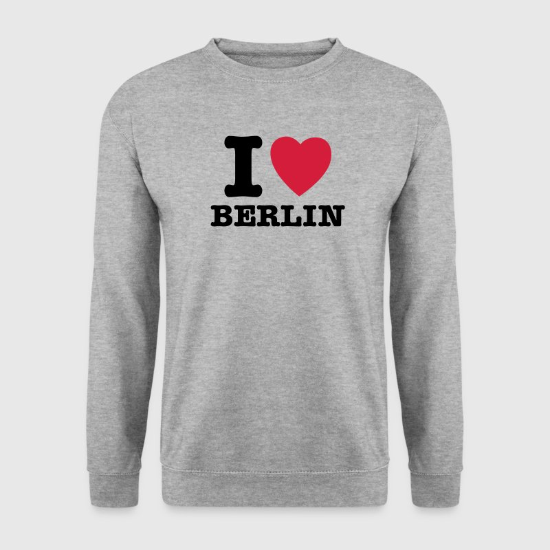 I Love Berlin - I Heart Berlin - Mannen sweater