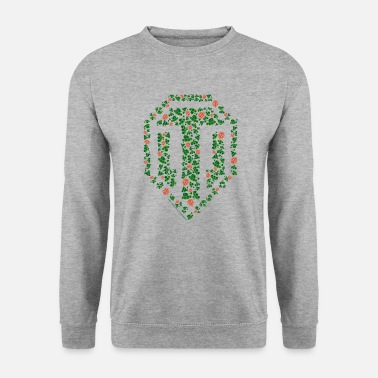 World World of Tanks - Pixel Logo - Men's Sweatshirt