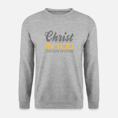 Jesus Christ in you  - Männer Pullover
