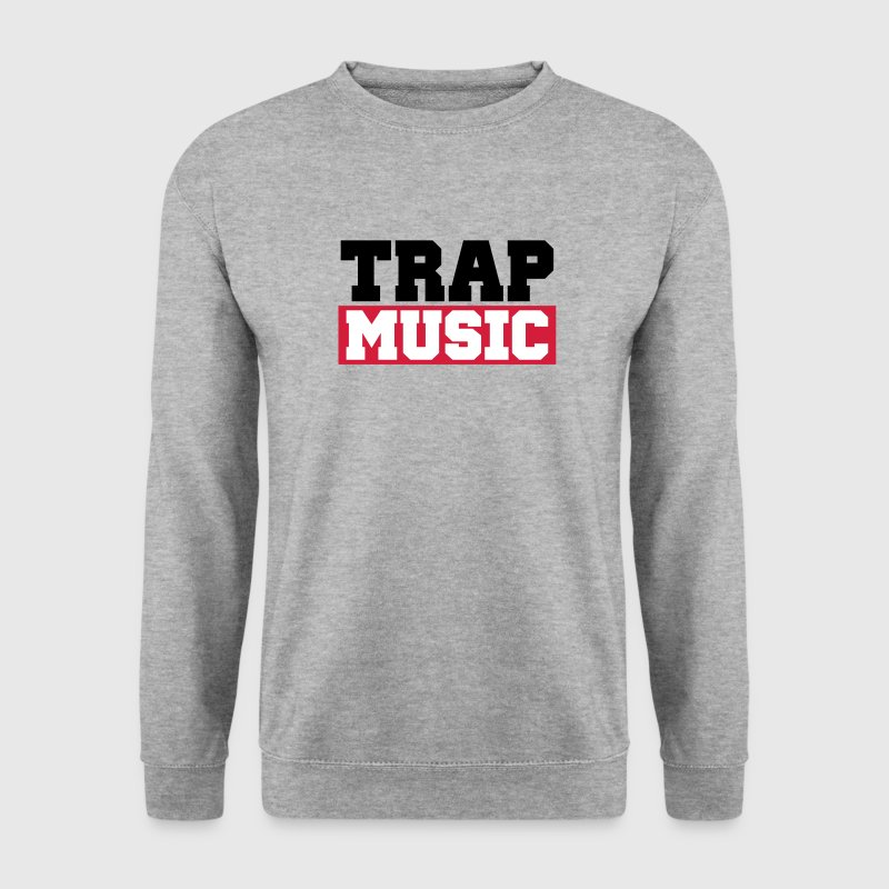 TRAP MUSIC - BASS PARTY - Sweat-shirt Homme