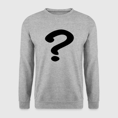 Question Mark Question mark - Men's Sweatshirt