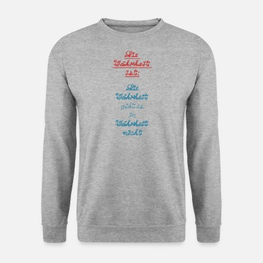 Provocation La vérité familiale lie la provocation - Sweat-shirt Homme