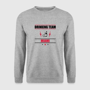 Drinking Team Miami - Men's Sweatshirt