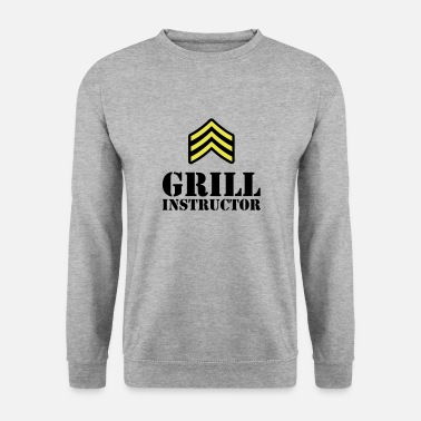 Instructeur Du Barbecue Grill Instructeur - Sweat-shirt Homme