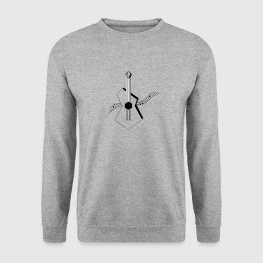 Guitar - Men's Sweatshirt