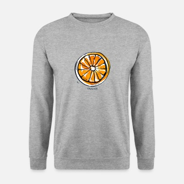 Frugt Orange Frugt Frugt Frugt - Herre sweater