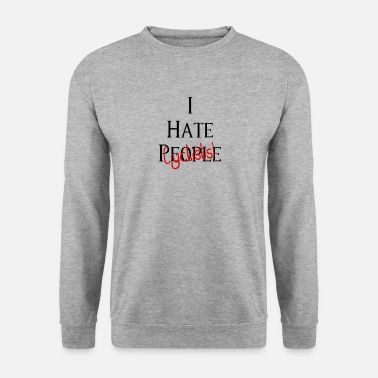 Taxi Driver I hate cyclists! I hate cyclists! - Men's Sweatshirt