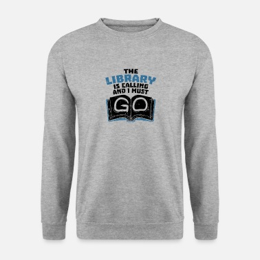 Book Book Book Book Nerd - Men's Sweatshirt