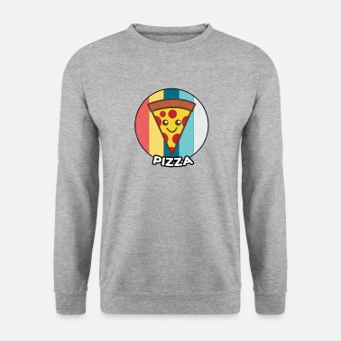 Pizza Idée cadeau pizza vintage fast food - Sweat-shirt Homme