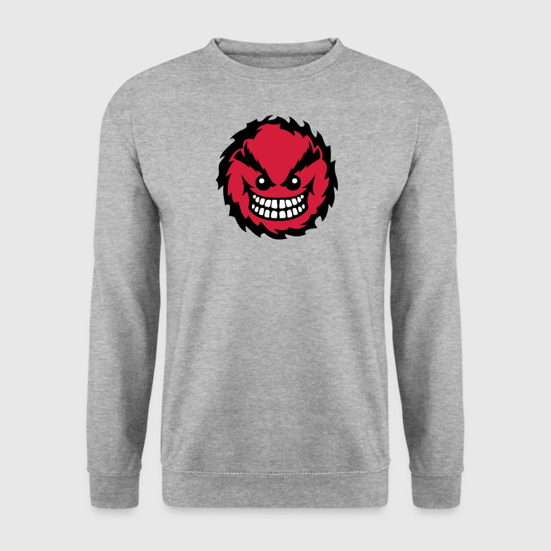 smiley feroce mechant dent 27 - Sweat-shirt Homme