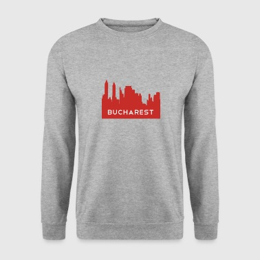 Bucarest Bucarest Rimania Bucarest skyline - Sweat-shirt Homme
