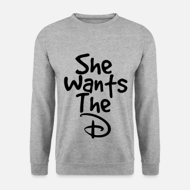 She She wants the D (2) - Mannen sweater