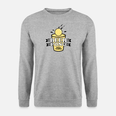 Champion du monde de bière pong - Sweat-shirt Homme