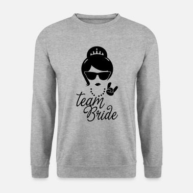 Bridesmaid Team Bride Wedding Bridesmaids Stag Hen night do - Men's Sweatshirt