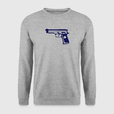 pistolet automatique 1706 - Sweat-shirt Homme