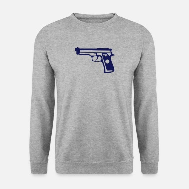 Revolver pistolet automatique 1706 - Sweat-shirt Homme