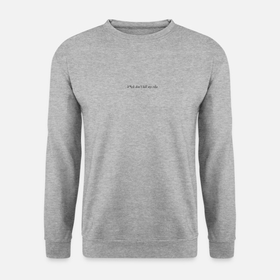 Mode Sweat-shirts - attitude - Sweat-shirt Homme gris chiné